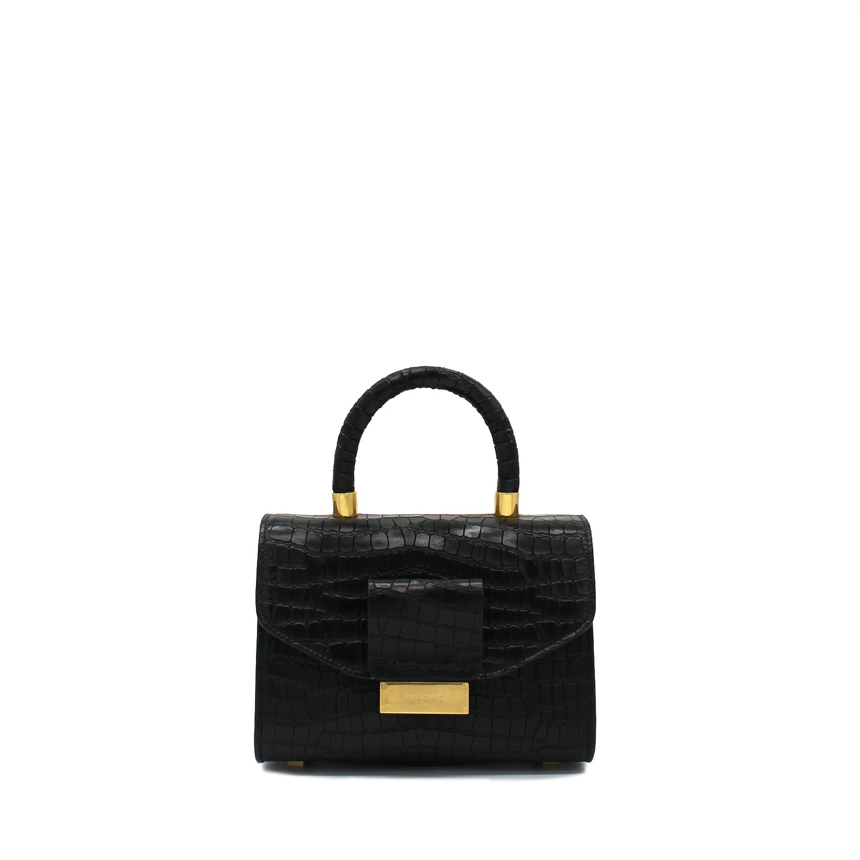 ANGIE CO SMALL LAM BLACK fronte
