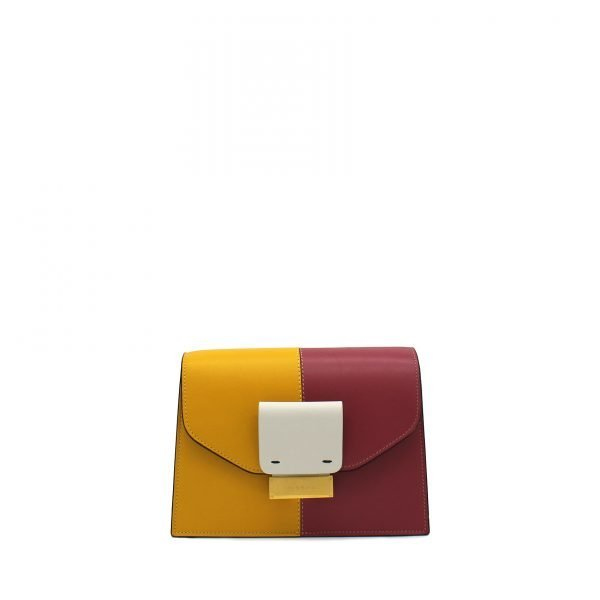 CARRIE SMALL COLOR BLOCK FRONTE